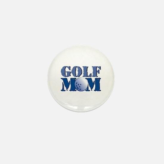 Golf Mom Mini Button