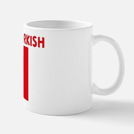 I WISH I WAS TURKISH Mug