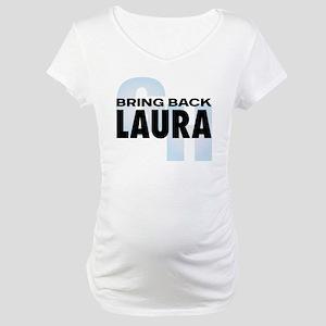 Bring Back Laura Maternity T-Shirt