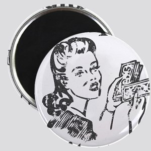 aged_pimpin-woman_blk Magnets