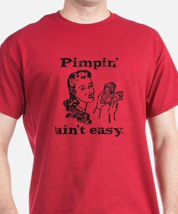 aged_pimpin-woman_blk T-Shirt