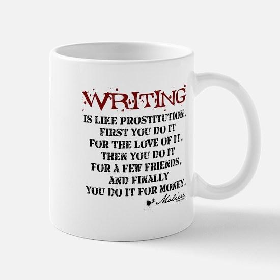 Moliere Writing Quote Mug