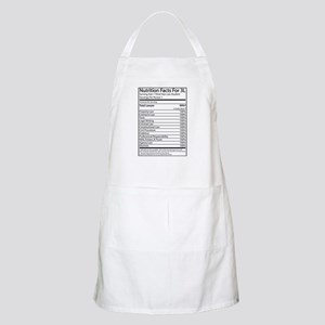Nutrition Facts For 3L BBQ Apron