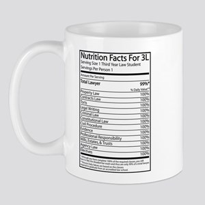 Nutrition Facts For 3L Mug