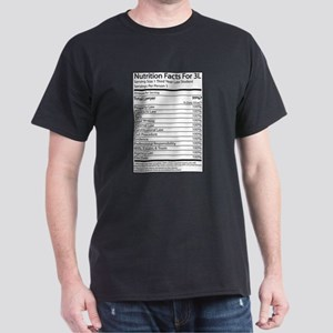 Nutrition Facts For 3L Dark T-Shirt