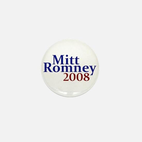 Mitt Romney 2008 Mini Button