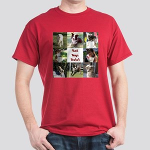 Red Dogs Rule Dark T-Shirt