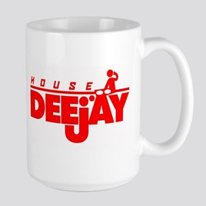 House DJ Large Mug