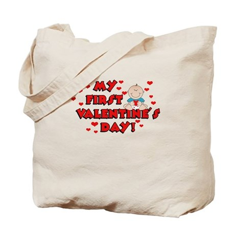 My 1st Valentine's Day BOY Tote Bag