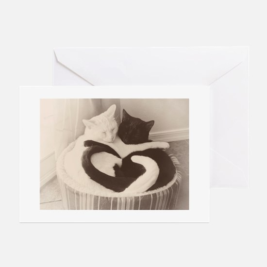 Love in Black and White (vintage) Greeting Cards