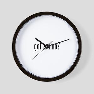 got ammo? Wall Clock