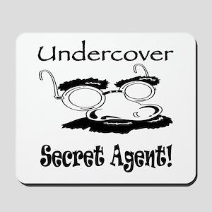 Undercover Secret Agent Mousepad