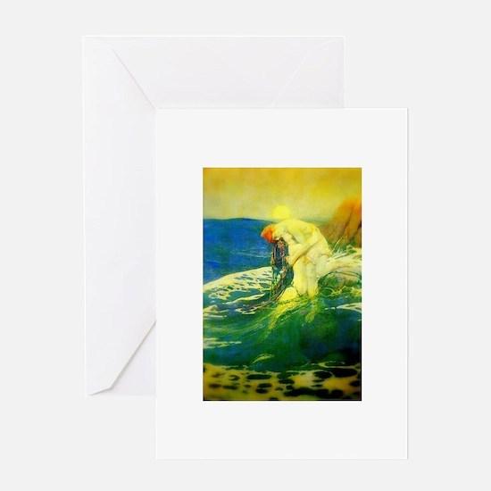 Mermaid (1 blank card)