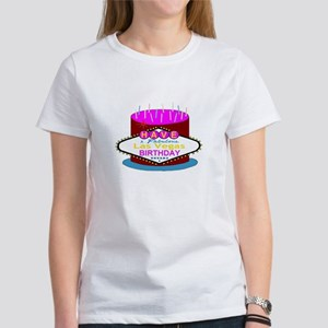 Las Vegas Birthday Cake Women's T-Shirt
