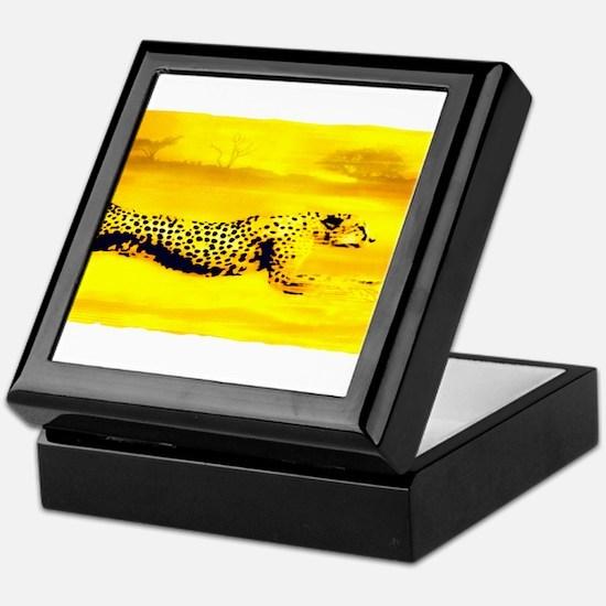 Funny Serengeti Keepsake Box