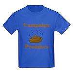 Campaign Promises Kids Dark T-Shirt