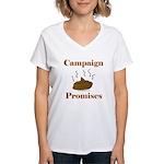 Campaign Promises Women's V-Neck T-Shirt