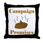 Campaign Promises Throw Pillow