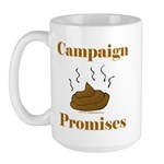 Campaign Promises Large Mug