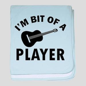 ukulele Design baby blanket