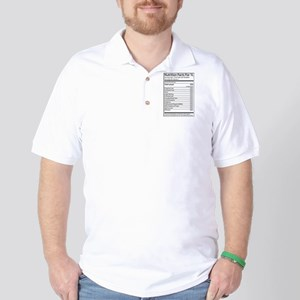 Nutrition Facts For 1L Golf Shirt