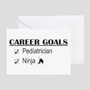 Pediatrician Career Goals Greeting Cards (Pk of 10
