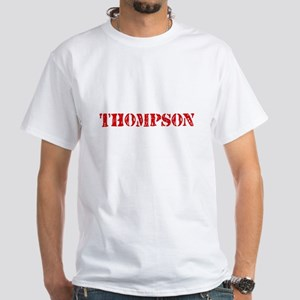 Thompson Retro Stencil Design T-Shirt