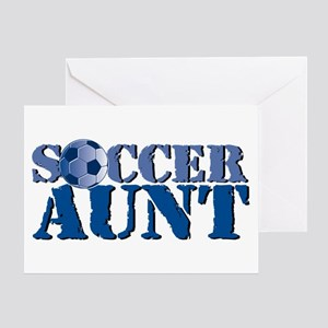 Soccer Aunt Greeting Card