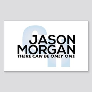 Jason Morgan is Back General Hospital Sticker