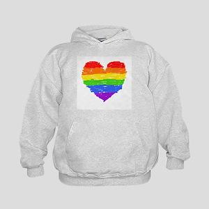 rainbow heart 3 Sweatshirt