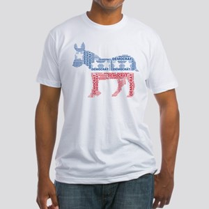 Democratic Donkey Fitted T-Shirt