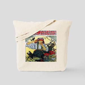 Alfons Mucha 1911 Moravian Teachers Choir Tote Bag