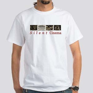 Cleopatra Silent Cinema White T-Shirt