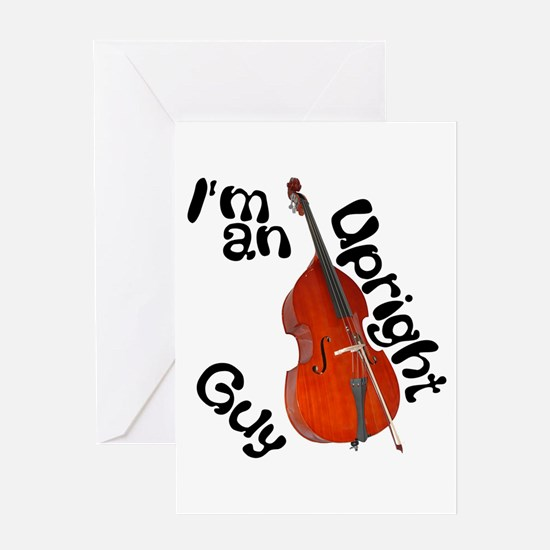 Upright Guy Greeting Card
