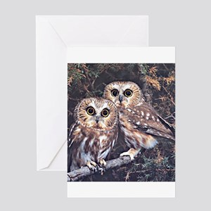 Owls164 Greeting Cards