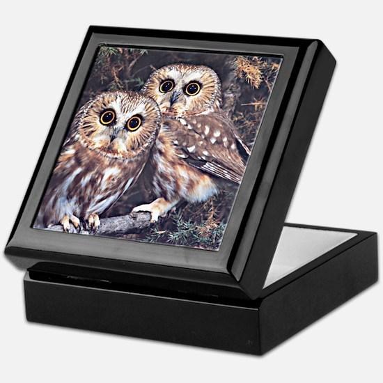 Unique Owl personalized Keepsake Box