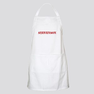 Stevenson Retro Stencil Design Light Apron