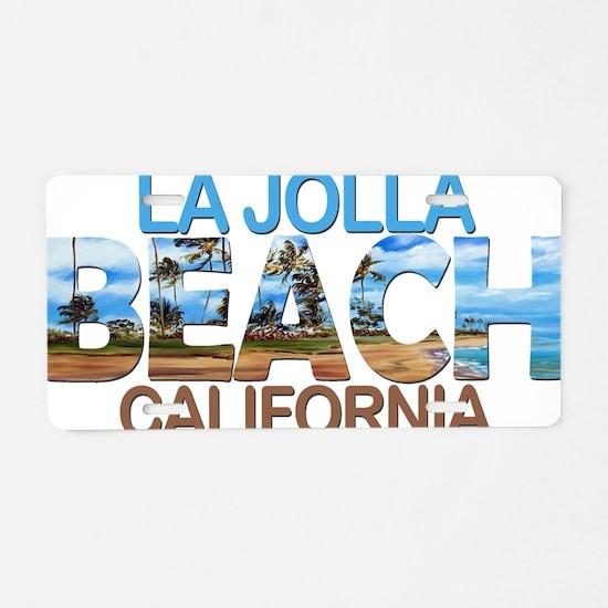 Funny San Aluminum License Plate