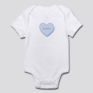 Mommy Heart Valentine Infant Bodysuit