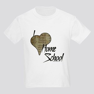 """I Love HomeSchool (with Hebrew Heart)"" Kids Light"