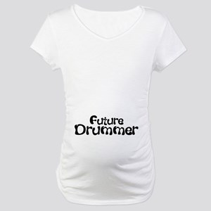 2-Future Drummer Maternity T-Shirt
