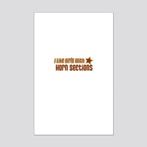 I Like Girls with Horn Sectio Mini Poster Print