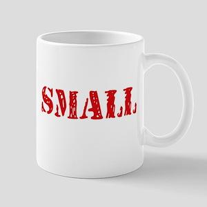 Small Retro Stencil Design Mugs