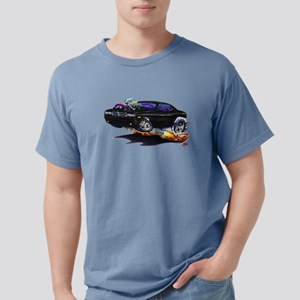 Challenger Black Car T-Shirt