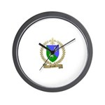 GUYON Family Crest Wall Clock