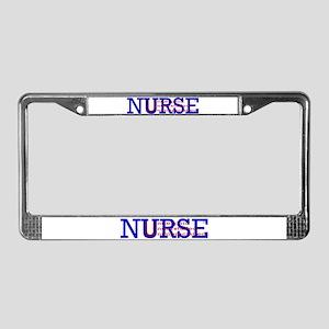Nurse are.... License Plate Frame