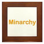 Minarchy Framed Tile