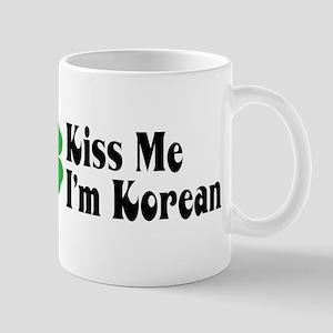 Kiss Me I'm Korean Mug