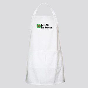Kiss Me I'm Korean BBQ Apron