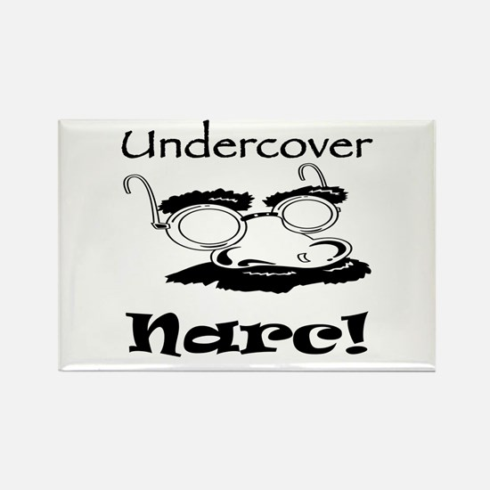 Undercover Narc Rectangle Magnet
